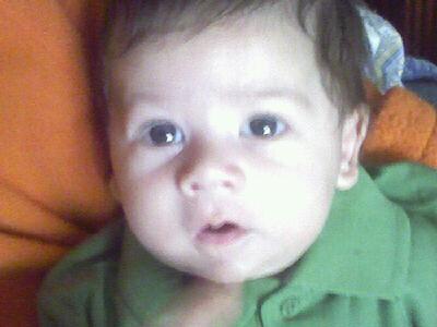 Miguelito,Hijo de Miguel y Chari.