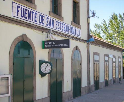 Estación La Fuente de San Esteban-Boadilla